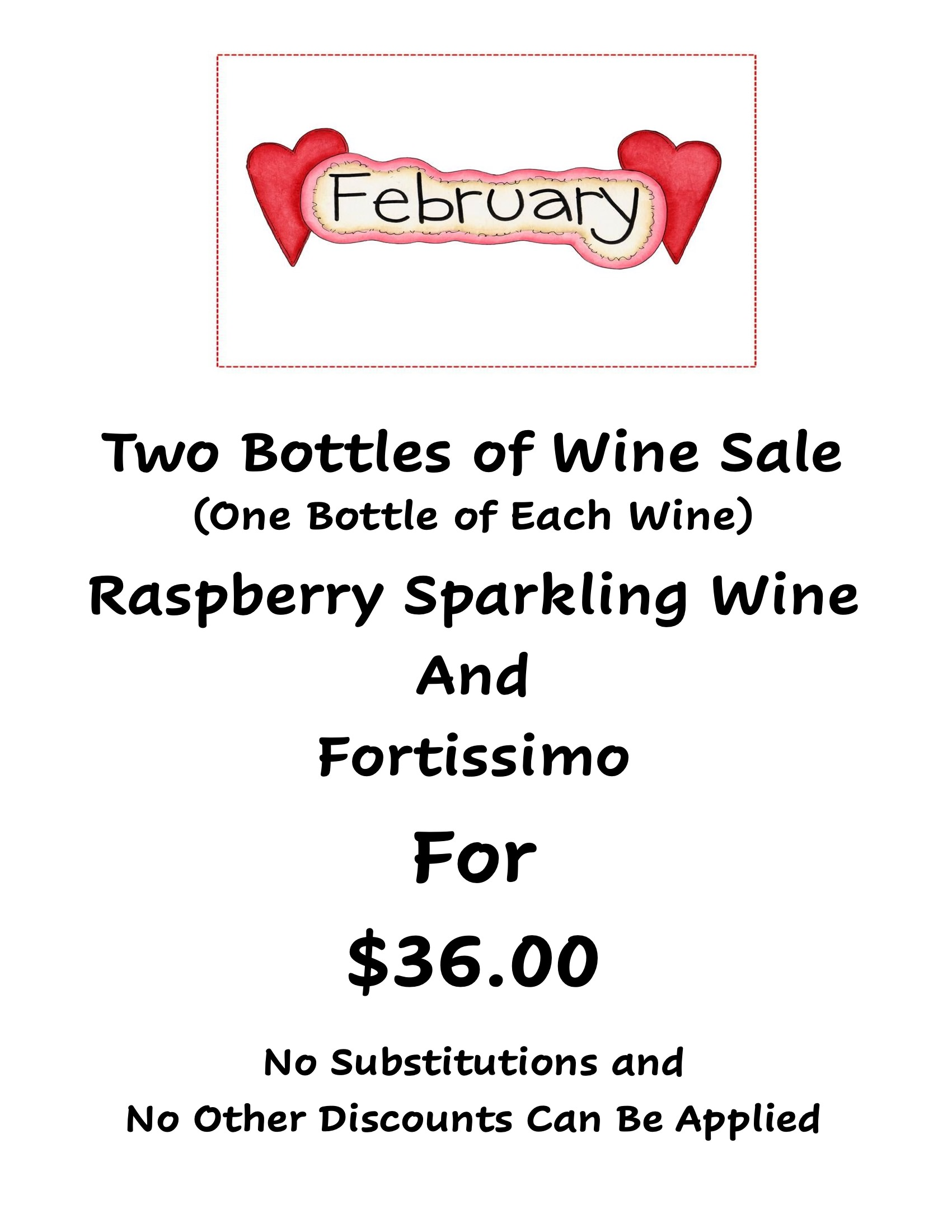 black sheep winery specials