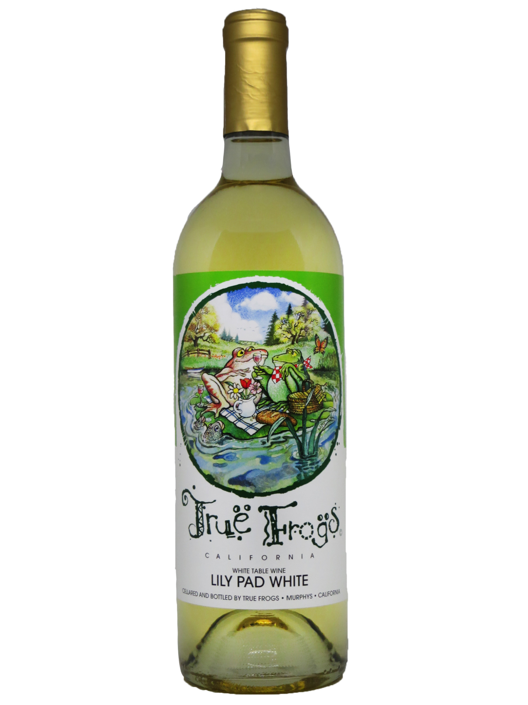 True Frogs Lily Pad White
