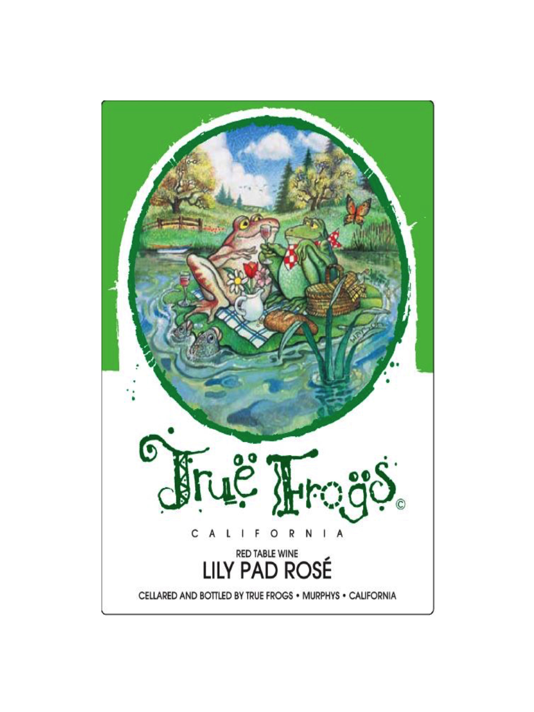 True Frogs Lily Pad Rosé